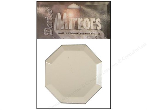 Darice Beveled Craft Mirror