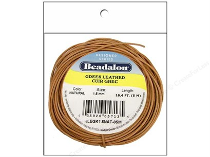 beadalon greek leather cording