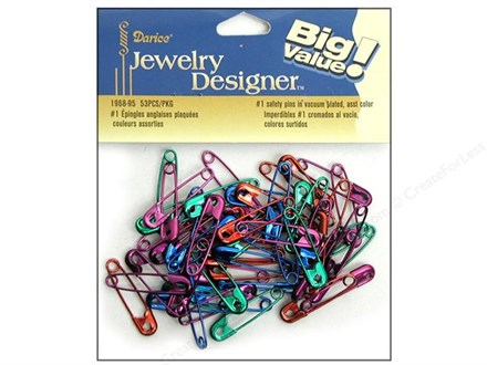 jewelry safety pins