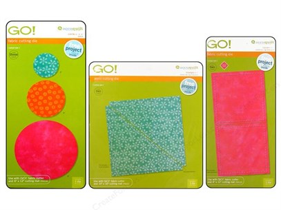 Qulting Supplies - Accuquilt Go Die Fabric Cutting