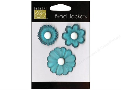 Bazzill Brads Jackets Atlantic