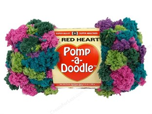 Red Heart Pomp A Doodle Yarn