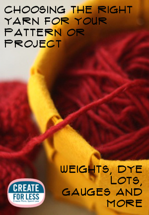 Yarn Weights and Gauges Tips For Knitting and Crocheting | CreateForLess.com Discount Craft Supplies