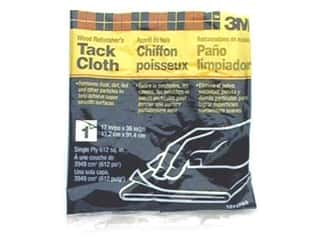 "Tacks Craft & Hobbies: 3M Finish Tack Cloth 17""x 36"""