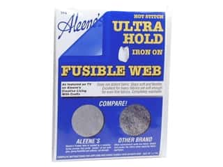 Leatherwork Yarn & Needlework: Aleene's Hot Stitch Ultra Hold Fusible Web 16 in. x 1 yd. (3 packages)