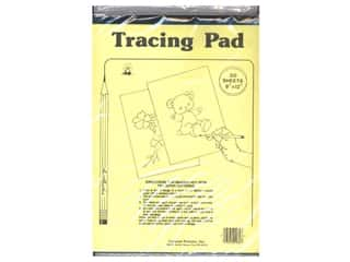 Tracing Paper Tracing Wheel: Aunt Martha's Tracing Paper Pad 8 1/2 x 12 in. 50 Sheets