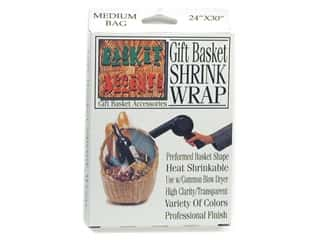 shrink: Basket Accents Shrink Wrap Bag Medium