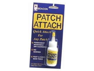 Glues/Adhesives: Beacon Glue Patch Attach 1oz Carded