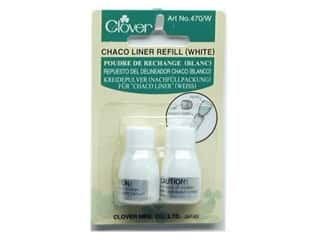 Clover Chaco Liner Refill White 2 pc