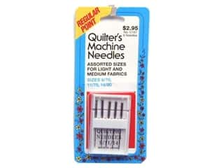 Collins Needles, Pullers, Cases & Threaders: Quilter's Machine Needles by Collins 9, 11, 14
