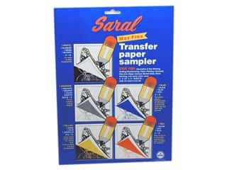 "Dritz Tracing Paper Saral 81/2""x 1l"" 5 Assorted"
