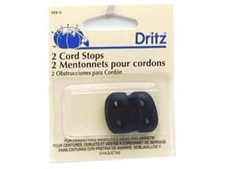 Cord Stops by Dritz 1 1/2 in. Navy 2pc