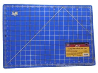 "Quilting Cutting Mats: Dritz Grid Cutting Mat Dura-Heal 12""x1 8"""