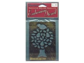 Darice Stencils Embossing Brass Partridge/Peartree