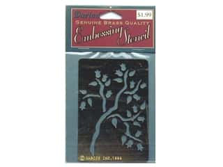 Darice Stencils Emboss Brass Peartree (3 packages)