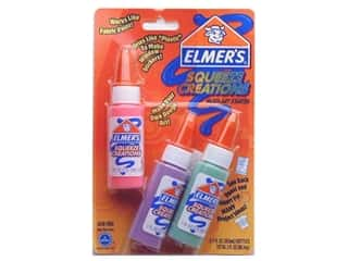 Elmer's Paint Squeeze Creations Pen Pink/Pur/Grn (3 packages)