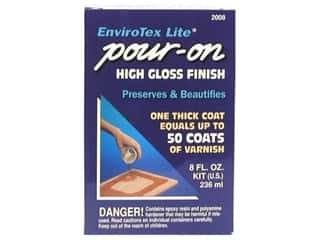 Resin, Ceramics, Plaster $8 - $12: Envirotex Lite Kit Kit 8 oz
