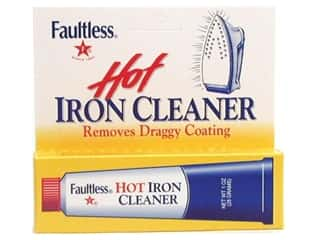 Liquid Cleaners / Gel Cleaners: Faultless Hot Iron Cleaner 1oz