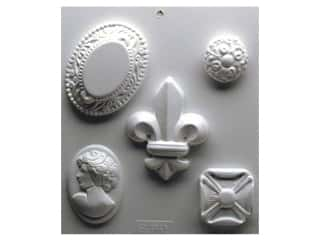 Soapmaking Scent: Yaley Soapsations Plastic Mold Cameos 5 shapes