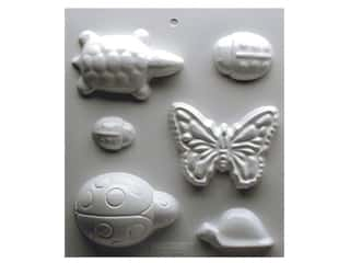 Yaley Soapsations Plastic Mold Garden Bugs