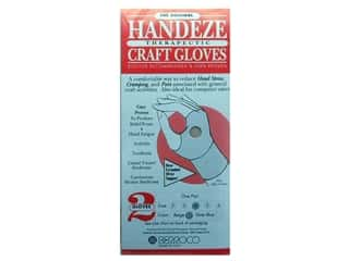 Sewing & Quilting 1 Pair: Berroco Handeze Glove Beige Pair Size 4