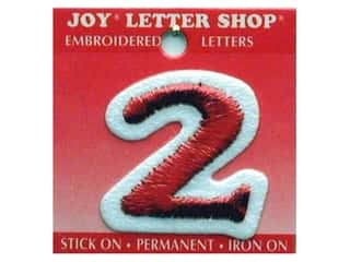 Irons Joy Letter Shop Iron On Red: Joy Letter Shop Iron On Red 2