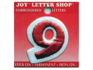 Irons Joy Letter Shop Iron On Red: Joy Letter Shop Iron On Red 9
