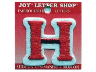 Letter Shop Iron On Red H
