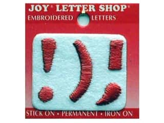 Sports Joy Letter Shop Iron On White: Joy Letter Shop Iron On Red !);
