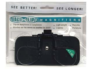 Glasses Magnifying Glasses / Reducing Glasses: MagniClips Magnifiers 1X