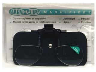 Glasses Magnifying Glasses / Reducing Glasses: MagniClips Magnifiers 2X