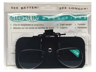 Glasses Magnifying Glasses / Reducing Glasses: MagniClips Magnifiers 2.5X