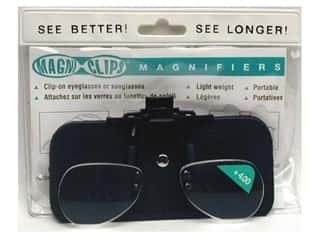 Glasses Magnifying Glasses / Reducing Glasses: MagniClips Magnifiers 4X