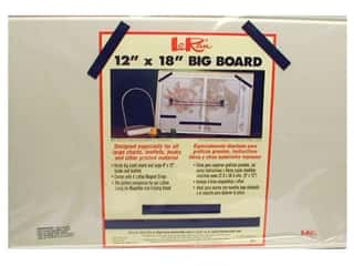 Rug Making Tools Tools / Latch Hook / Bracelet: Big Board by LoRan 12 x 18 in.