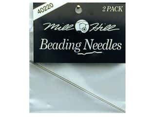 Millhill Beading Needle 2 pc-Large blunt tip (3 packages)