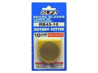 Stock Up Sale Rotary Blades: Olfa Replacement Blade 45 mm 10 pc