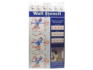 Plaid Stencil Decor Wall Stencil Carousel Horse