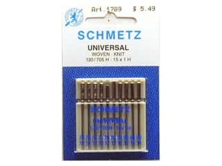Needles / Machine Needles $4 - $5: Schmetz Universal Needle Assorted (4)Size 70/10-(4)Size 80/12-(2)Size 90/14