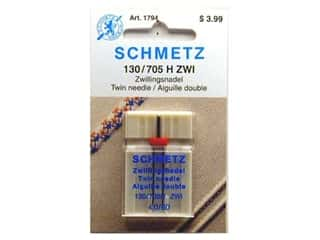 Aurifil Thread $0 - $4: Schmetz Universal Needle Twin Size 80/4.0