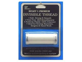 Sulky Clear: Sulky Invisible Thread .004 440 yd. Clear