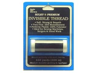 Sulky Clear: Sulky Invisible Thread .004 440 yd. Smoke