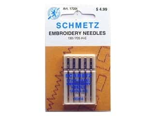 Brothers Needles / Machine Needles: Schmetz Machine Embroidery Needle Size 90/14