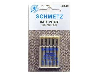 Schmetz Ballpoint Needle Assorted (2)70-(2)80-(1)90