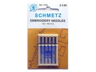 schmetz embroidery needle: Schmetz Machine Embroidery Needle Astd 11/75,90/14