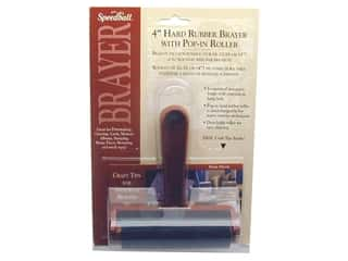 Speedball Brayer Hard Rubber 4""