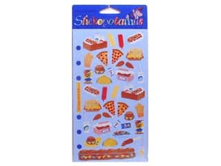 Clearance Blumenthal Favorite Findings: EK Sticko Stickers Fast Food (3 packages)