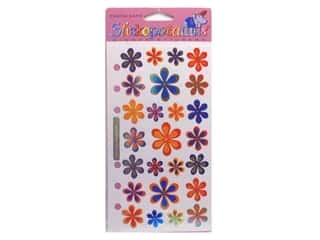 EK Sticko Stickers Funky Flowers