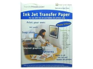 TransferMagic.com Ink Jet Transfer Paper 12 pc