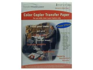 TransferMagic.com Color Copy Transfer Paper 3 pc