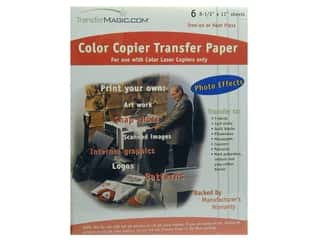 TransferMagic.com Color Copy Transfer Paper 6 pc